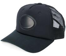 fishnet panelled cap
