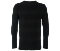Gestreiftes Sweatshirt mit Rundhalsausschnitt