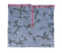 Garavani Schal mit Camouflage-Muster