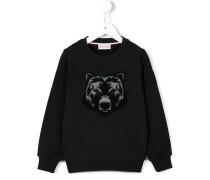 Sweatshirt mit Bären-Patch