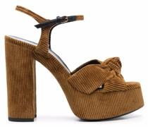 Sandalen aus Cord