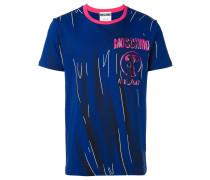 trompe-l'oeil logo T-shirt