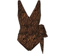 'Dree Louise' Badeanzug in Wickeloptik