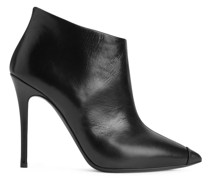 Greek leather ankle boots