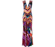 Kleid mit Print - women - Viskose/Nylon - 40