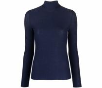 textured roll-neck jumper