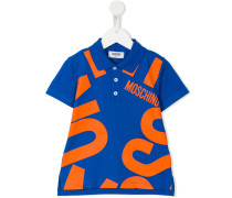 Poloshirt mit Logo-Print - kids