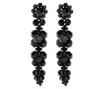 bead-detail drop earrings