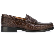 'Lennox' Loafer in Krokodilleder-Optik
