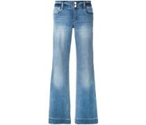 Jeans mit weitem Bein - women