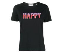 "T-Shirt mit ""Happy""-Print"