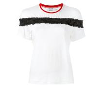 - T-Shirt mit Rüschen - women - Baumwolle/Elastan