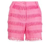fringe-design shorts