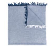 - fringed scarf - men - Modal/Viskose