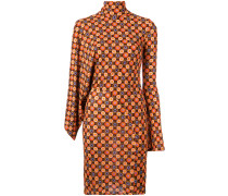 Kleid mit geometrischem Print - women - Viskose