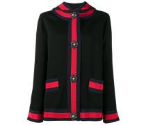 detachable LOVED hood jacket - women