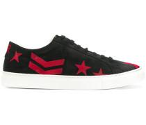Sneakers mit Stern-Print