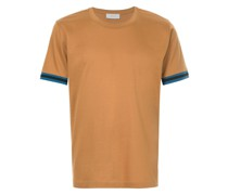 T-Shirt mit kontrastierenden Streifen