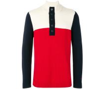 Tuktu colour block pullover