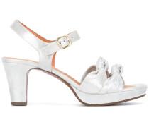 Sandalen mit Knoten - women - Leder/rubber