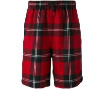 - tartan shorts - men - Polyester/Wolle - 48