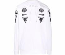 patch-detail hoodie