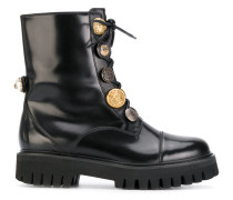 Biker Boots with decorative buttons