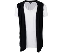 - T-Shirt im Lagen-Look - men - Baumwolle/Viskose