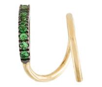 'Bela Vert' twirl tsavorite earring
