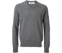 Sweatshirt mit V-Ausschnitt - men - Wolle - M