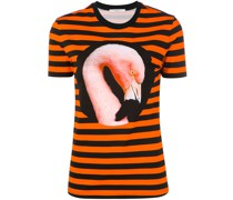 T-Shirt mit Flamingo-Print