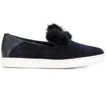 Slip-On-Sneakers mit Shearling-Futter
