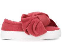 Oversized-Sneakers mit Schleife