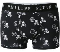 Shorts mit TotenkopfPrint