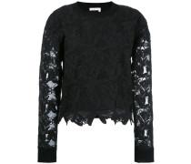 Pullover mit Spitze - women - Baumwolle/Seide