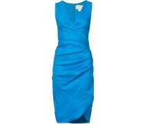 Gerafftes Kleid mit schmaler Passform - women