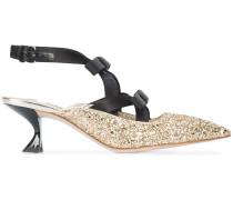 slingback glitter pumps - Unavailable