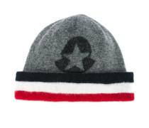 logo print hat