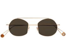 Sonnenbrille in Metallic-Optik