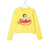 Betty Boop logo sweatshirt