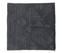 Schal mit Logo-Muster