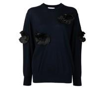 Pullover mit Falten