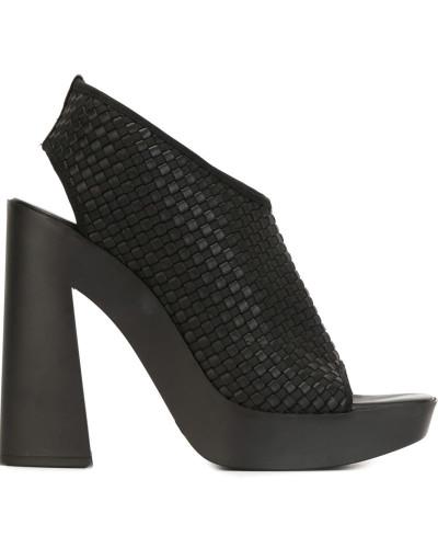 vic mati damen sandalen mit blockabsatz reduziert. Black Bedroom Furniture Sets. Home Design Ideas