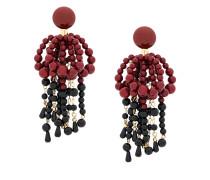 hanging beaded earrings