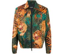 Jacke mit Tiger-Print