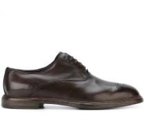 Oxford-Schuhe mit Budapester-Details