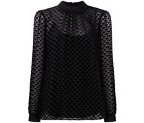 Bluse mit geometrischem Print