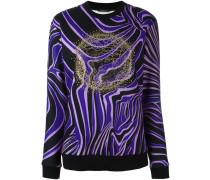 'Zebra' Sweatshirt mit Medusa-Logo