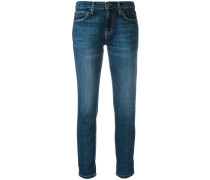 Gerade Cropped-Jeans