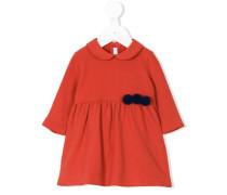 Kleid mit Pompons